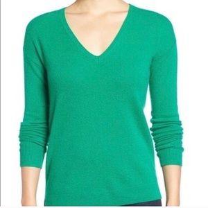 Halogen Cashmere V Neck Sweater